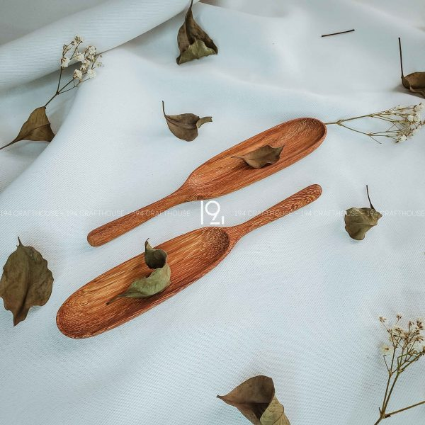 Hand carved wooden spoon and fork wooden utensils cookware eco kitchen and dining table decor and gift handmade by 194 Craft House 166 scaled