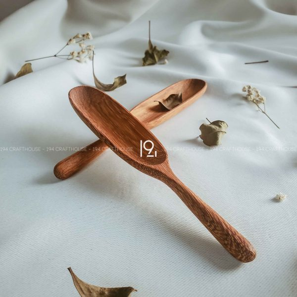 Hand carved wooden spoon and fork wooden utensils cookware eco kitchen and dining table decor and gift handmade by 194 Craft House 178 scaled