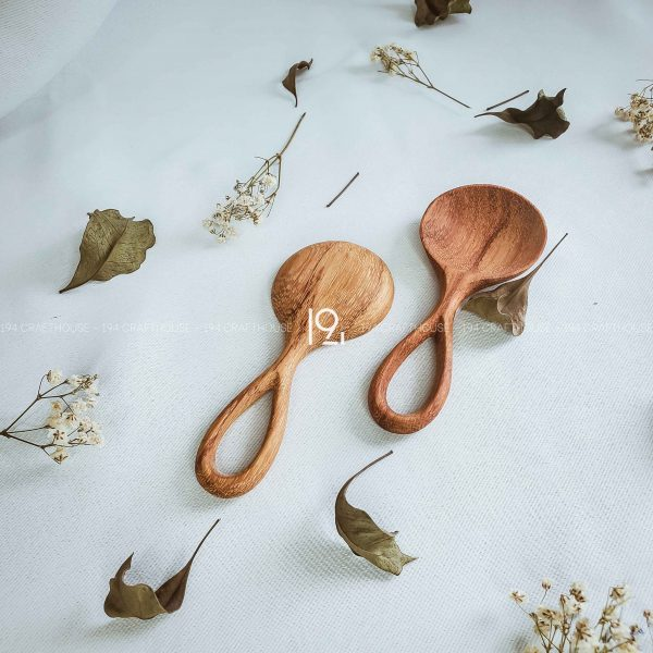Hand carved wooden spoon and fork wooden utensils cookware eco kitchen and dining table decor and gift handmade by 194 Craft House 400 scaled
