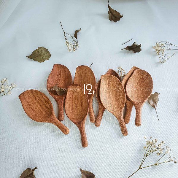 Hand carved wooden spoon and fork wooden utensils cookware eco kitchen and dining table decor and gift handmade by 194 Craft House 408 scaled