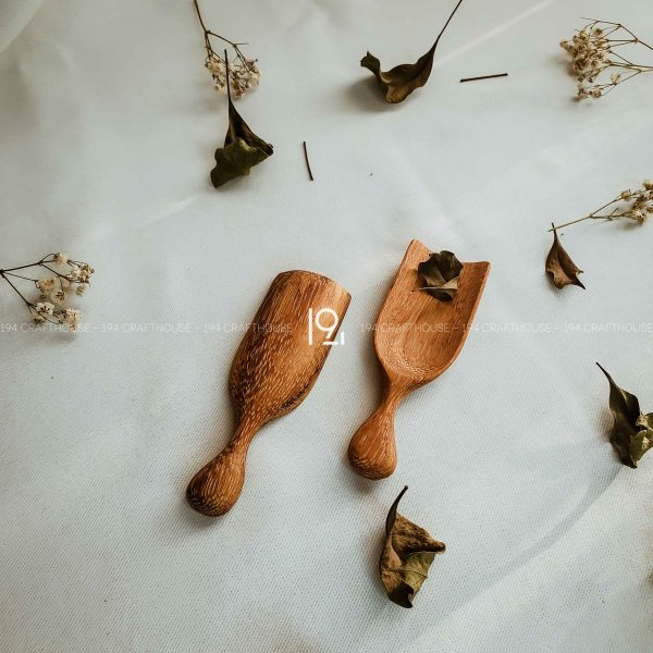Mini Wooden Herbs and Spice Spoon