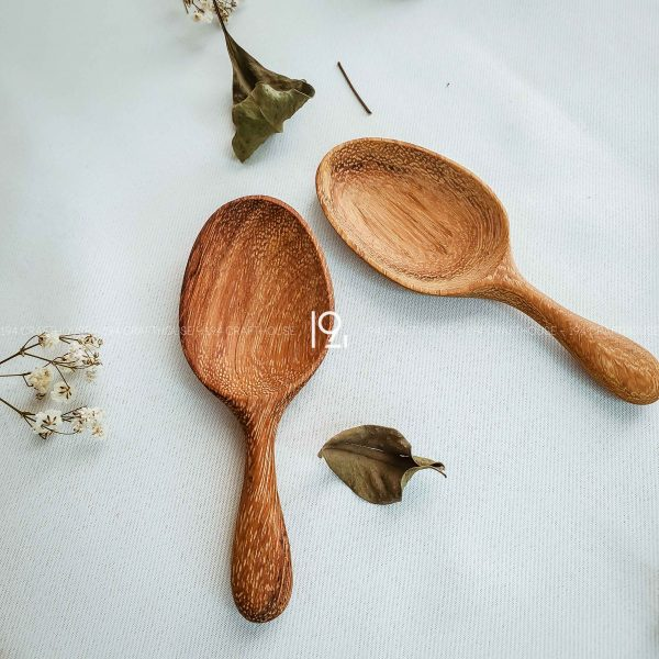Hand carved wooden spoon and fork wooden utensils cookware eco kitchen and dining table decor and gift handmade by 194 Craft House 433 scaled