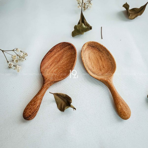 Hand carved wooden spoon and fork wooden utensils cookware eco kitchen and dining table decor and gift handmade by 194 Craft House 435 scaled