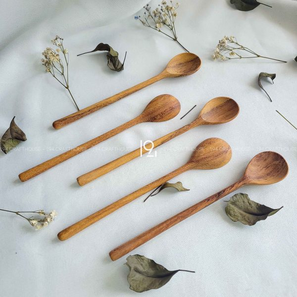 Hand carved wooden spoon and fork wooden utensils cookware eco kitchen and dining table decor and gift handmade by 194 Craft House 231 scaled