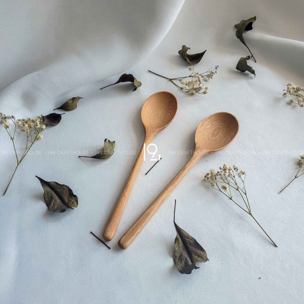Hand carved wooden spoon and fork wooden utensils cookware eco kitchen and dining table decor and gift handmade by 194 Craft House 280 scaled