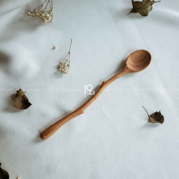Hand carved wooden spoon and fork wooden utensils cookware eco kitchen and dining table decor and gift handmade by 194 Craft House 340 scaled