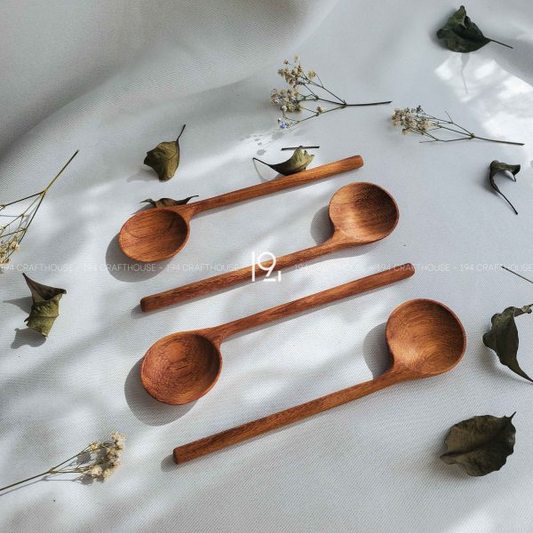 Hand carved wooden spoon and fork wooden utensils cookware eco kitchen and dining table decor and gift handmade by 194 Craft House 342 scaled