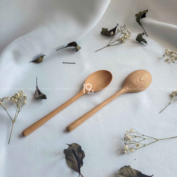 Hand carved wooden spoon and fork wooden utensils cookware eco kitchen and dining table decor and gift handmade by 194 Craft House 451 scaled
