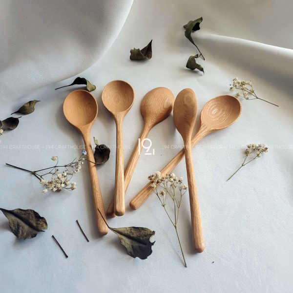 Hand carved wooden spoon and fork wooden utensils cookware eco kitchen and dining table decor and gift handmade by 194 Craft House 463 scaled