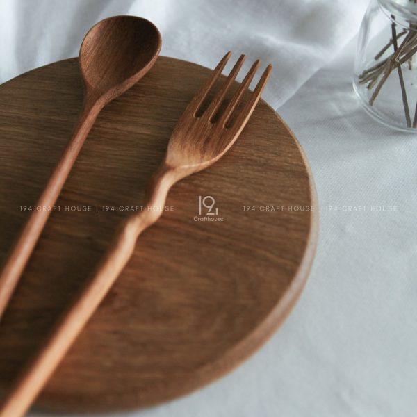 Hand carved Wooden Coffee Spoon - Wooden Tea Spoon - Wooden Gift Set - Wooden Utensils - Wooden Kitchen Utensils - Eco Friendly and Sustainable product for home and living decor handmade by 194 Craft House
